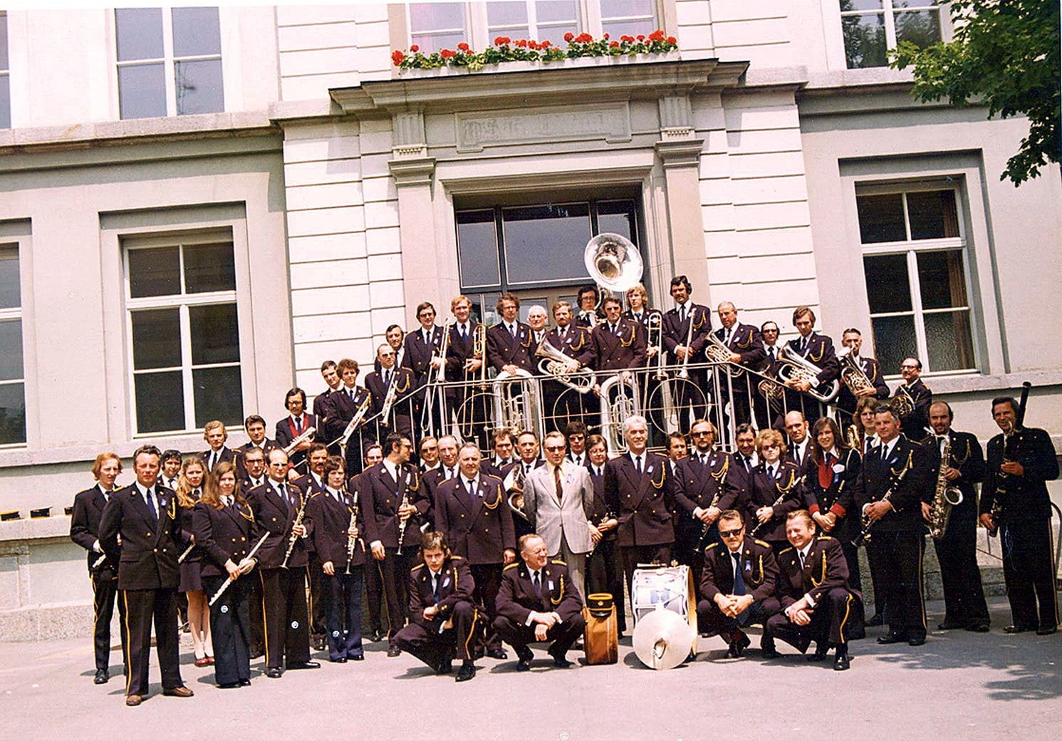 Die Uniformen im Laufe der Zeit: 1957-1973