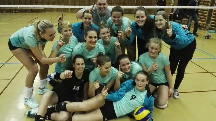 Die Volleyballerinnen sind wieder in der 1. Liga