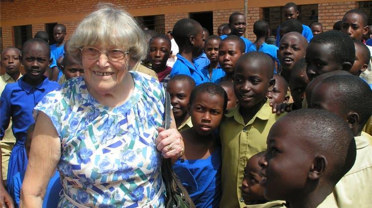 Auch in Ruanda bleibt sie unvergessen