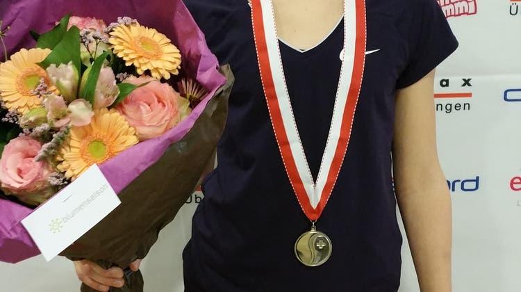 Hägendörferin Anina Lanz holt die Silbermedaille