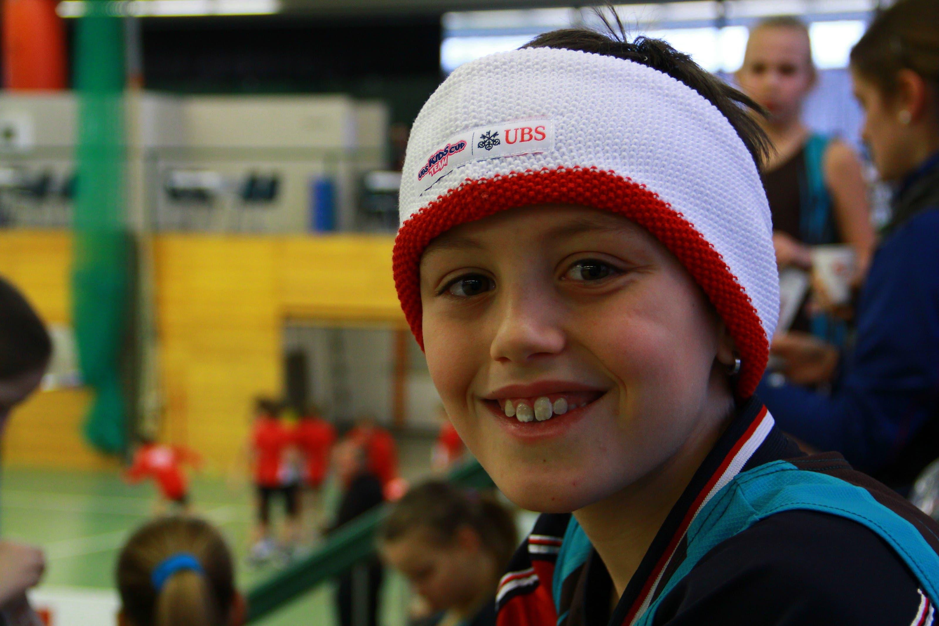Cedric Nellen (9), Oberbuchsiten «Dieser Teamevent ist mein erster Wettkampf in diesem Jahr. Am besten bin ich im Biathlon – dort muss man über Sprinten, Joggen und Werfen alles drauf haben. Wir haben im Verein daher auch ziemlich hart trainiert.»