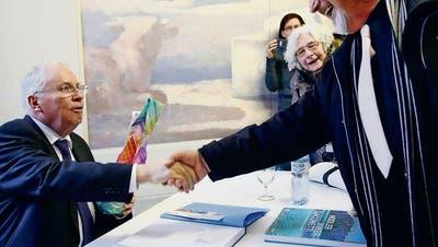 Blochers einzigartige Autogrammstunde irritiert die Museums-Szene
