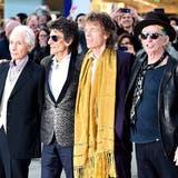 Rolling Stones eröffnen Ausstellung in London