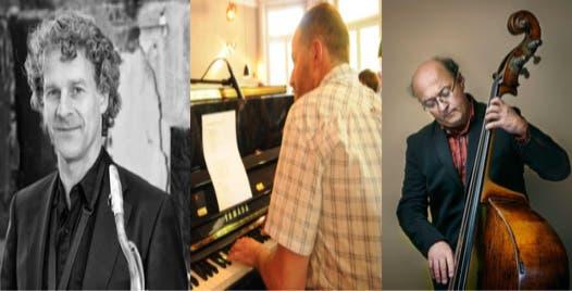 Prato/Friedli/Joss v.l.n.r: Ivo Prato: Saxophon Peter Friedli: Piano Samuel Joss: Kontrabass