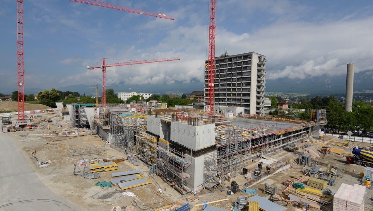 Flachbau des Bürgerspitals Solothurn soll bis September fertig sein