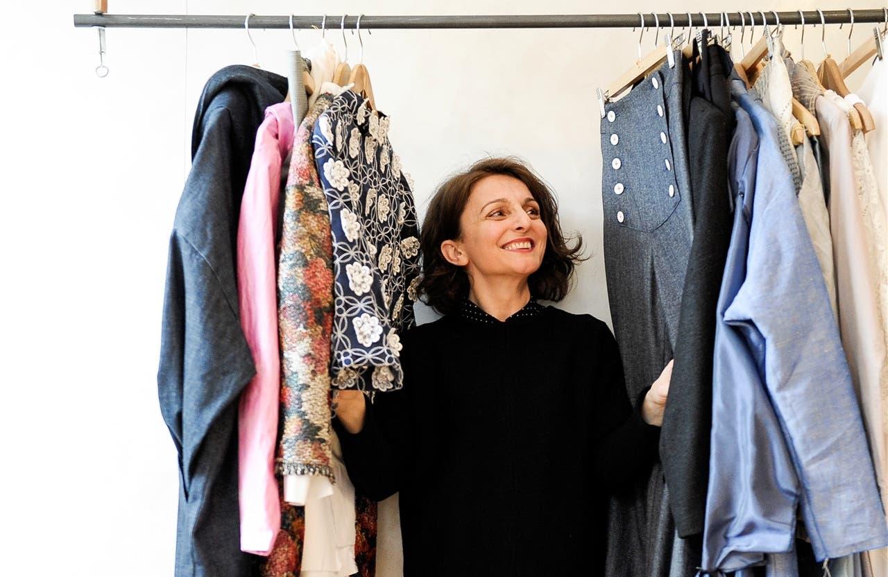 Powerfrau: Gyzide Akbulut in ihrer Basler Atelier-Boutique. Martin Töngi