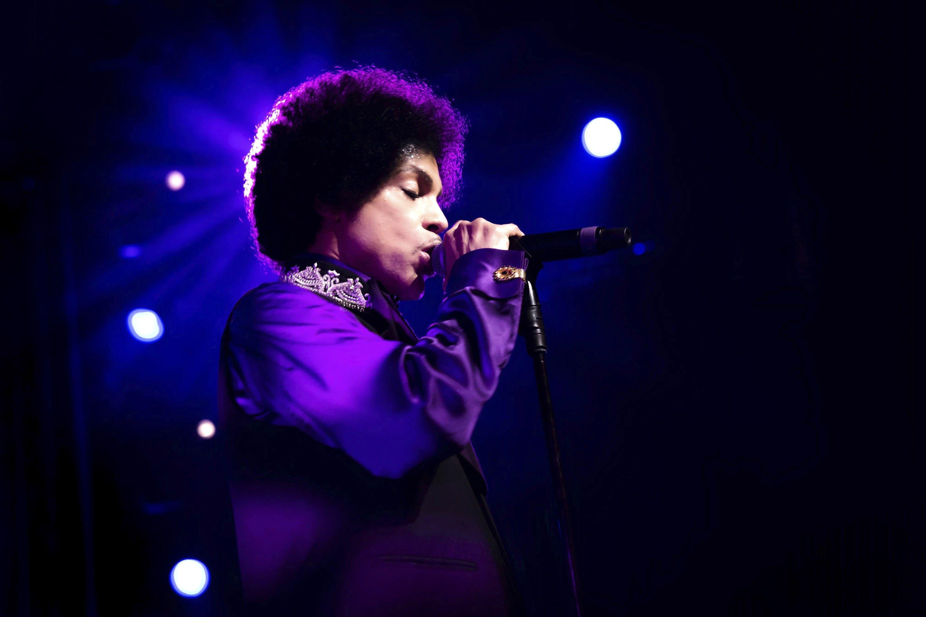 Prince starb im Alter von 57 Jahren. Das Bild zeigt ihn am Montreux Jazz Festival im Juli 2013.