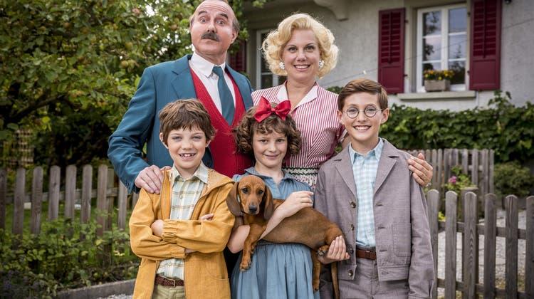 Geheimnis gelüftet: Das ist Papa Molls Filmfamilie