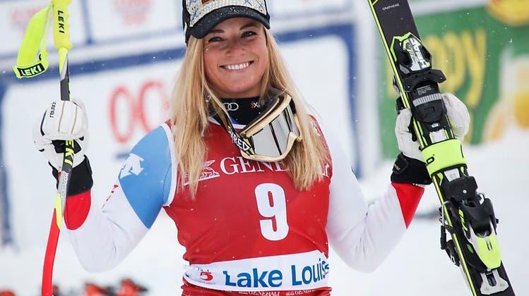 Nach zwei Patzern gewinnt eine wütende Lara Gut in Val d'Isère