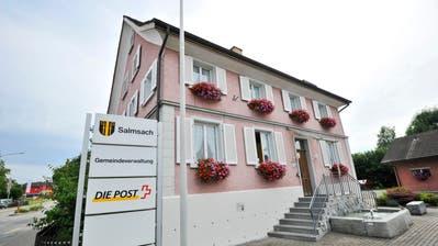 Gemeindehaus Salmsach: Hier sollen schon bald neue Gemeinderäte ein- und ausgehen. (Bild: Donato Caspari)
