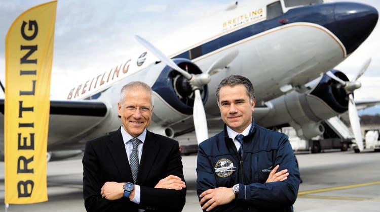 Breitling hebt ab: Mit der DC-3 rund um die Welt
