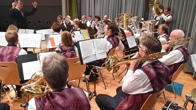 Die Musikgesellschaft Härkingen spielte in jugendlicher Frische auf