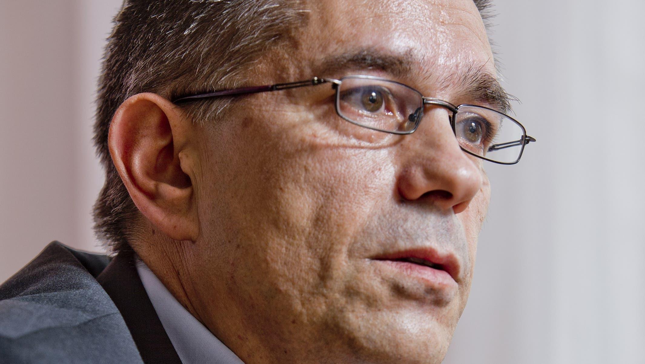 Markus Schneider (CVP) muss sich noch in einem parteiinternen Nominationsverfahren gegen seine beiden Konkurrenten...