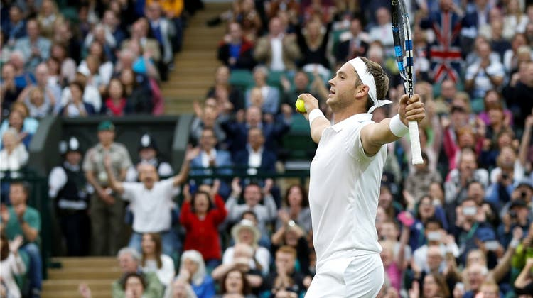Roger Federer beendet Marcus Willis' Rasen-Märchen in Wimbledon