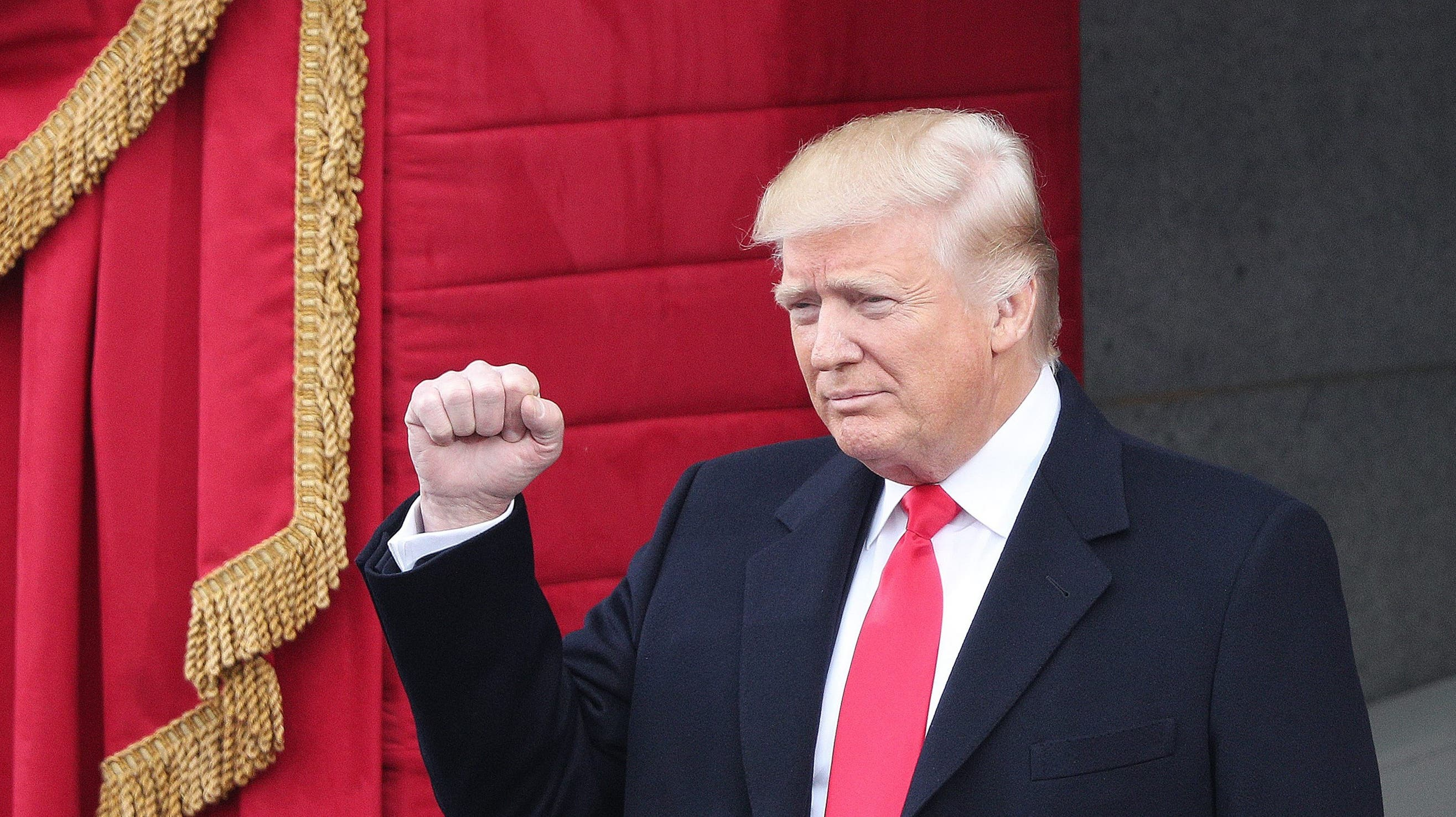 Unter Jubel begrüsst: Donald Trump