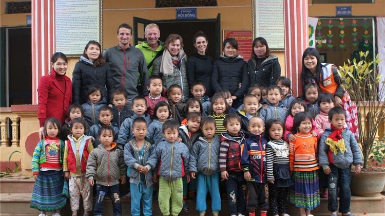 China-Wanderer sind in Vietnam angekommen