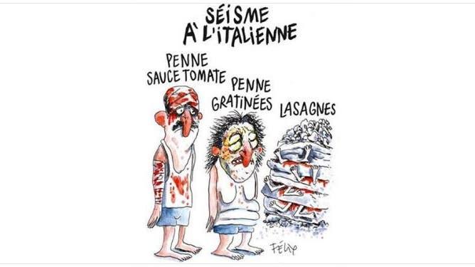 Schwere Diffamierung: Erdbeben-Gemeinde Amatrice geht gegen «Charlie Hebdo» vor