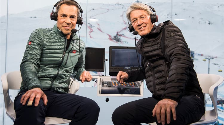 Das Duo Hüppi und Russi: Topseriös bis zum letzten Wort