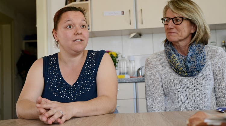 Trotz Behinderung alleine wohnen: Wie Nicole Zaugg ihr Leben in den Griff bekommt