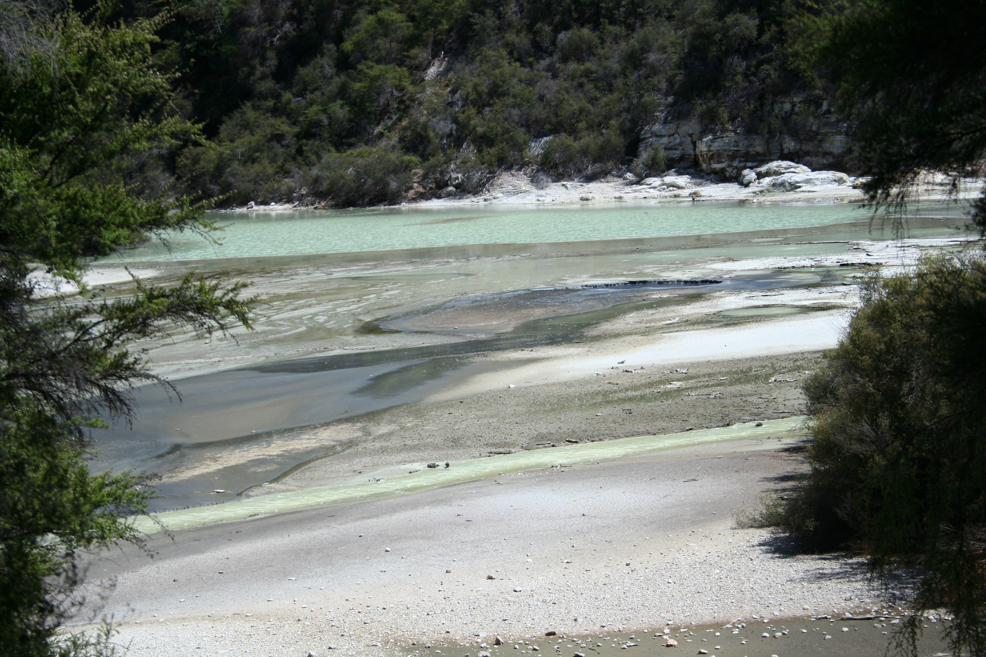 Eines der Ferienfotos aus Neuseeland, welche sich auf der SD-Karte befinden