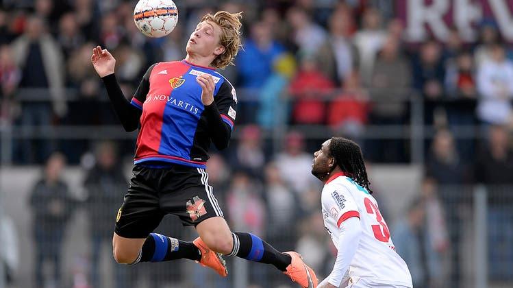Der FC Basel gewinnt dank Delgado-Penalty mit 1:0 in Sion