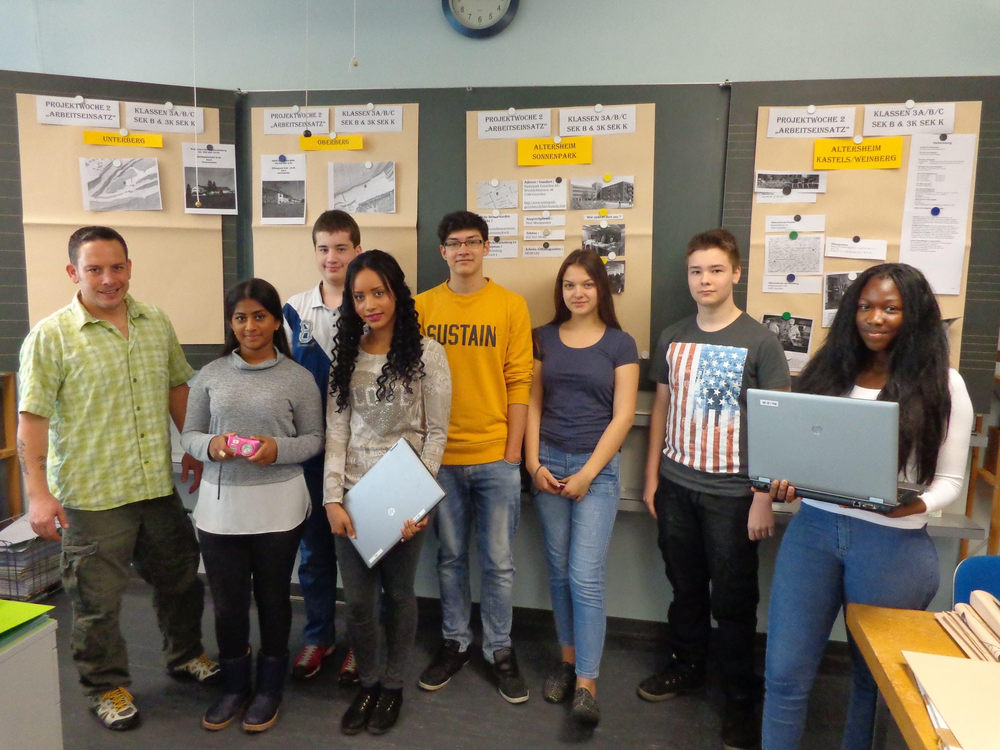 Grenchner Sekundarschüler erkunden die Arbeitswelt