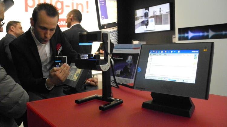 Laser ergänzt Mikrofon: Witschi Electronic präsentiert neue Uhren-Messgeräte