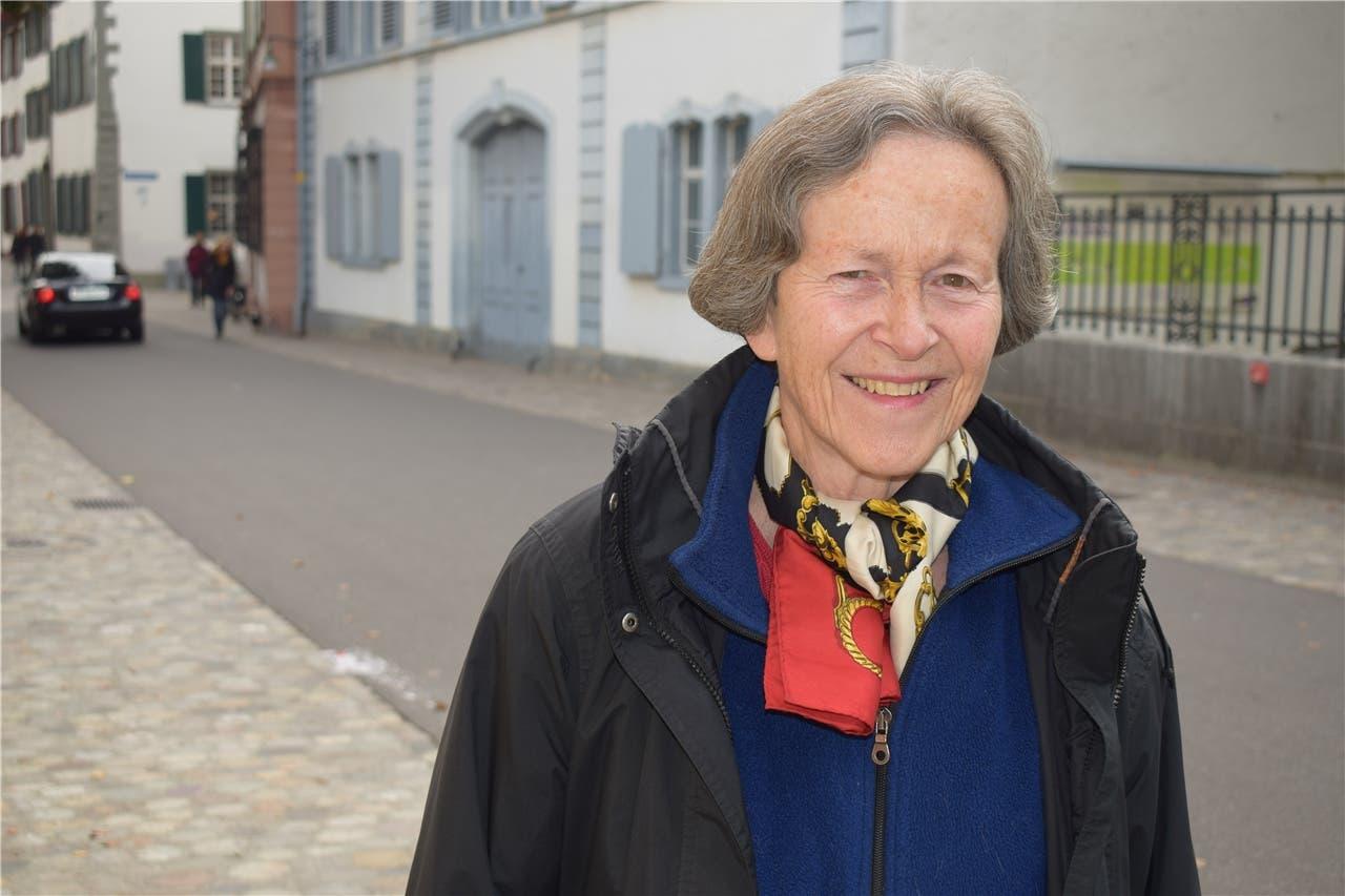 Jacqueline, 70 «Ich habe Conradin Cramer gewählt. Das Viererticket bietet eine gute Lösung.»