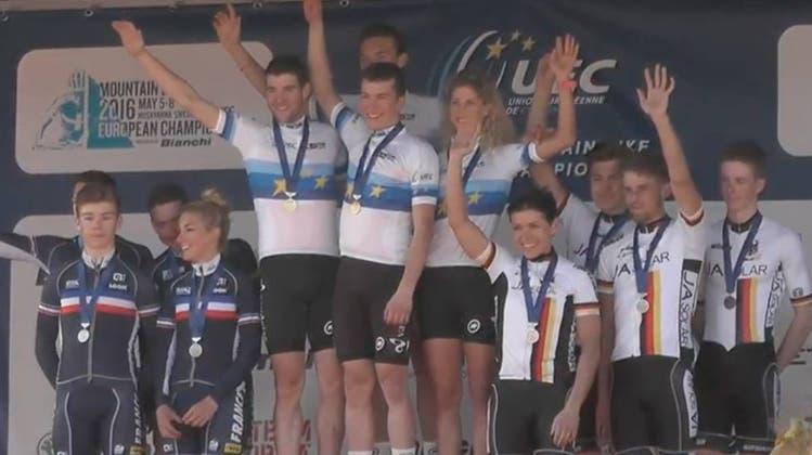 Vital Albin vom Bike Team Solothurn ist Europameister