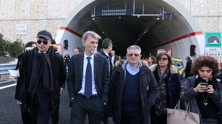 Endlich freie Fahrt auf der «Mafia-Autobahn»