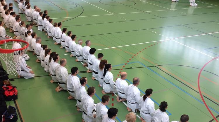 Karate-Kai Lenzburg organisiert erfolgreiches Landestraining
