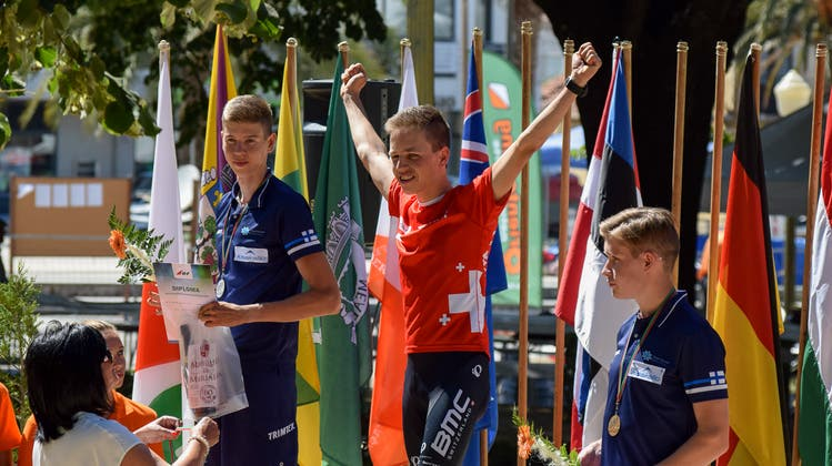 Adrian Jäggi Bike-OL Sprint-Juniorenweltmeister