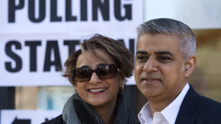 Sadiq Khan wird der erste muslimische Bürgermeister von London