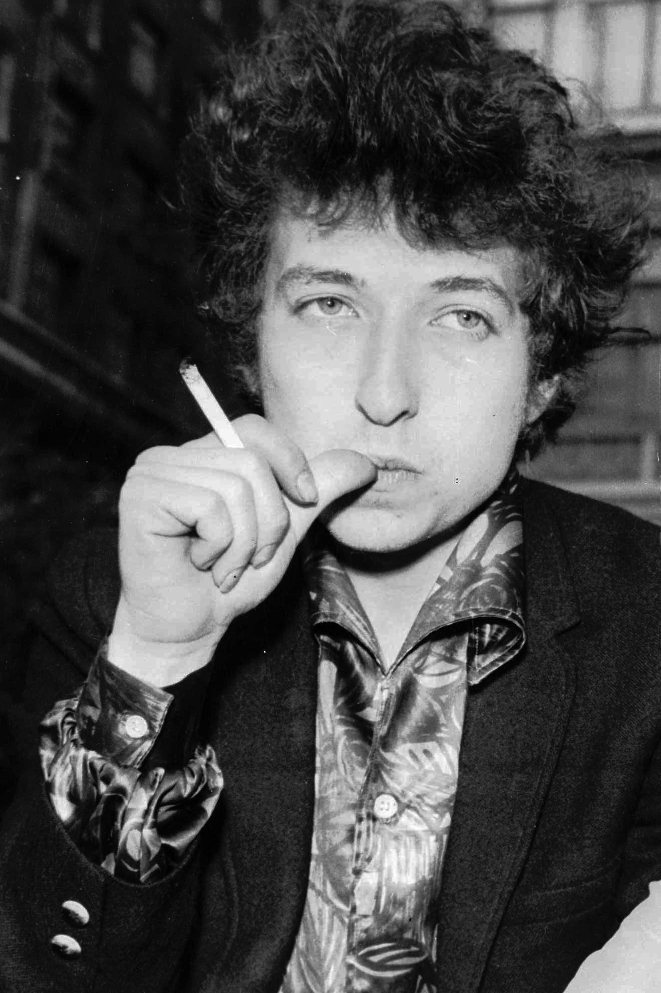 Der junge Bob Dylan 1965