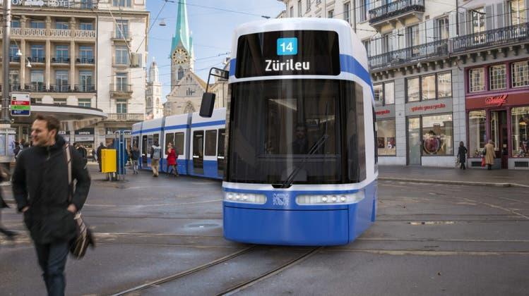 Das neue Züri-Tram soll erst Mitte 2020 durch Zürich rollen