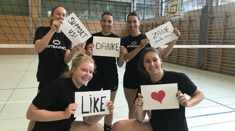 Aufgestiegen – Mehr Platz für Volleyball in Aarau