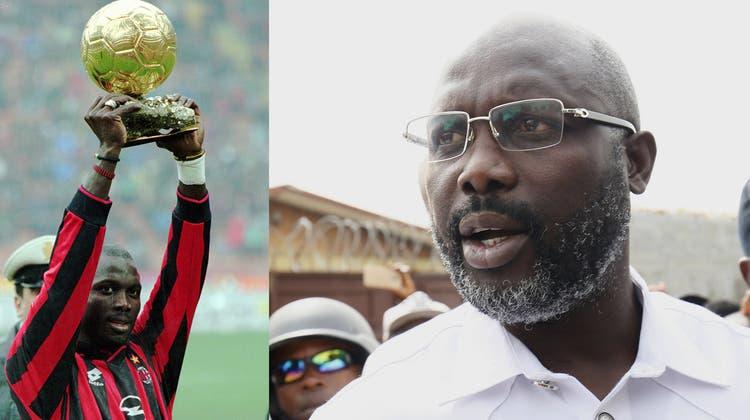 Kicker, Boxer, Bergsteiger: Sportler in der Politik – Ex-Weltfussballer Weah ist nicht der erste