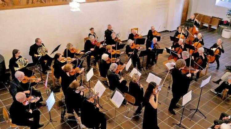 Lions Club, Samuel Mittag und Streichorchester Dietikon
