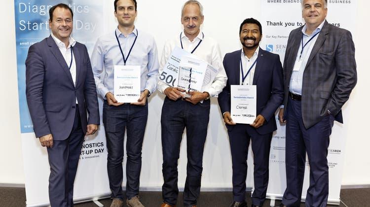 Cardioexplorer gewinnt die Swissbiolabs Challenge 2018