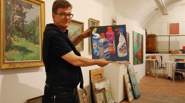 Einzigartige Kunstmaler-Ausstellung: «Das hat sich bisher noch keiner getraut»