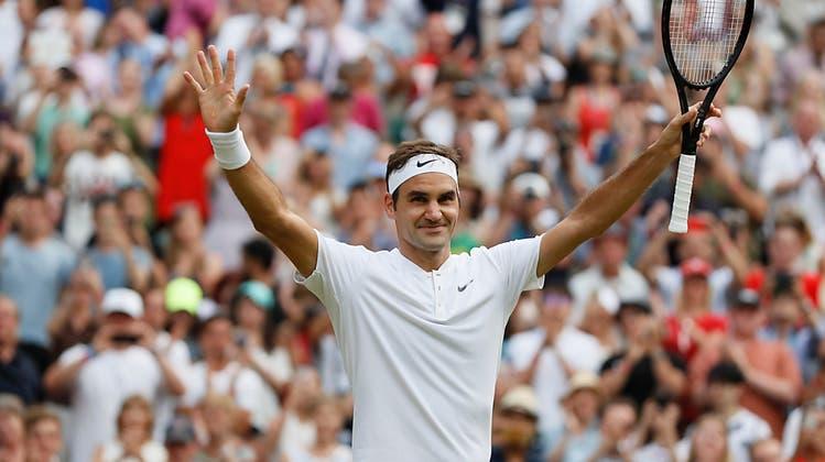 Federer ohne Satzverlust in dritter Runde: «Ich weiss nicht, warum ich nervös war»
