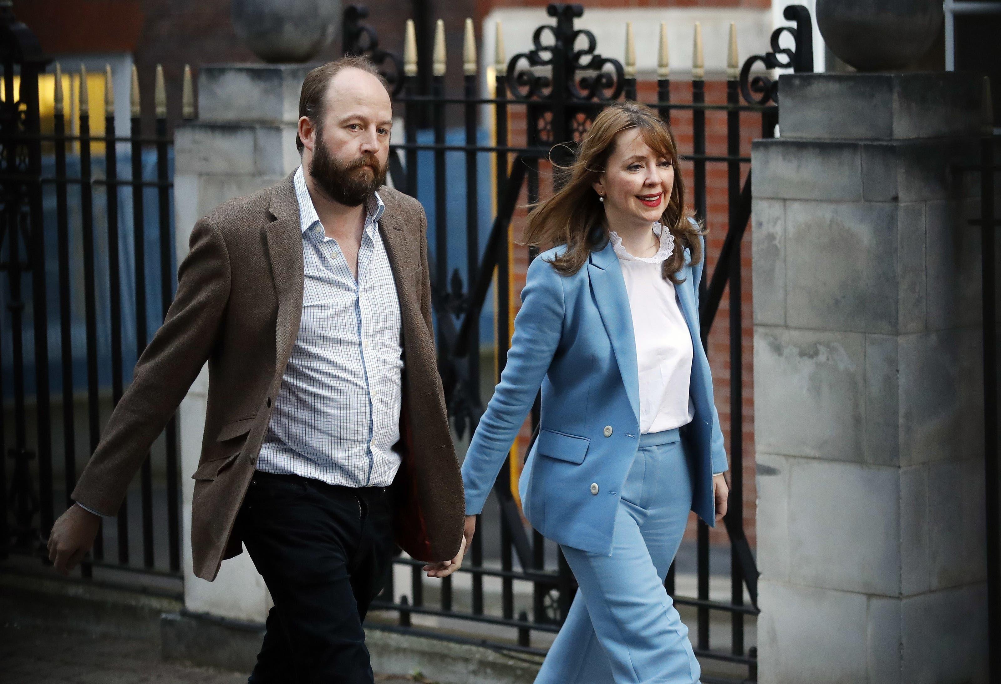 Bisher engste Vertraute respektive Berater von Theresa May: Nick Timothy und Fiona Hill