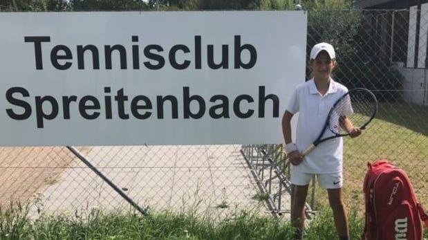 Lorena Quartararo , jüngste Clubmeisterin des TCS im Aargauer-Final in Brugg Girls 12 & U