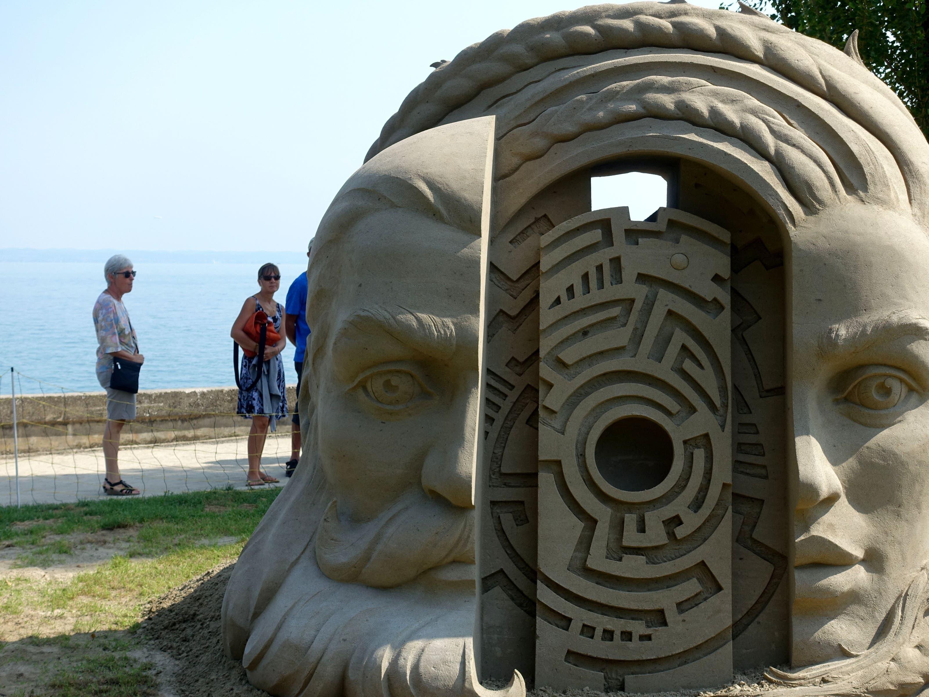 undefined Sandfiguren von Roschach