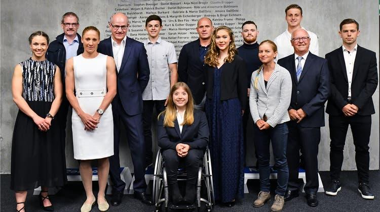 «Abbild der Solothurner Sportlandschaft»: Regierung zeichnet Sportler und Funktionäre aus