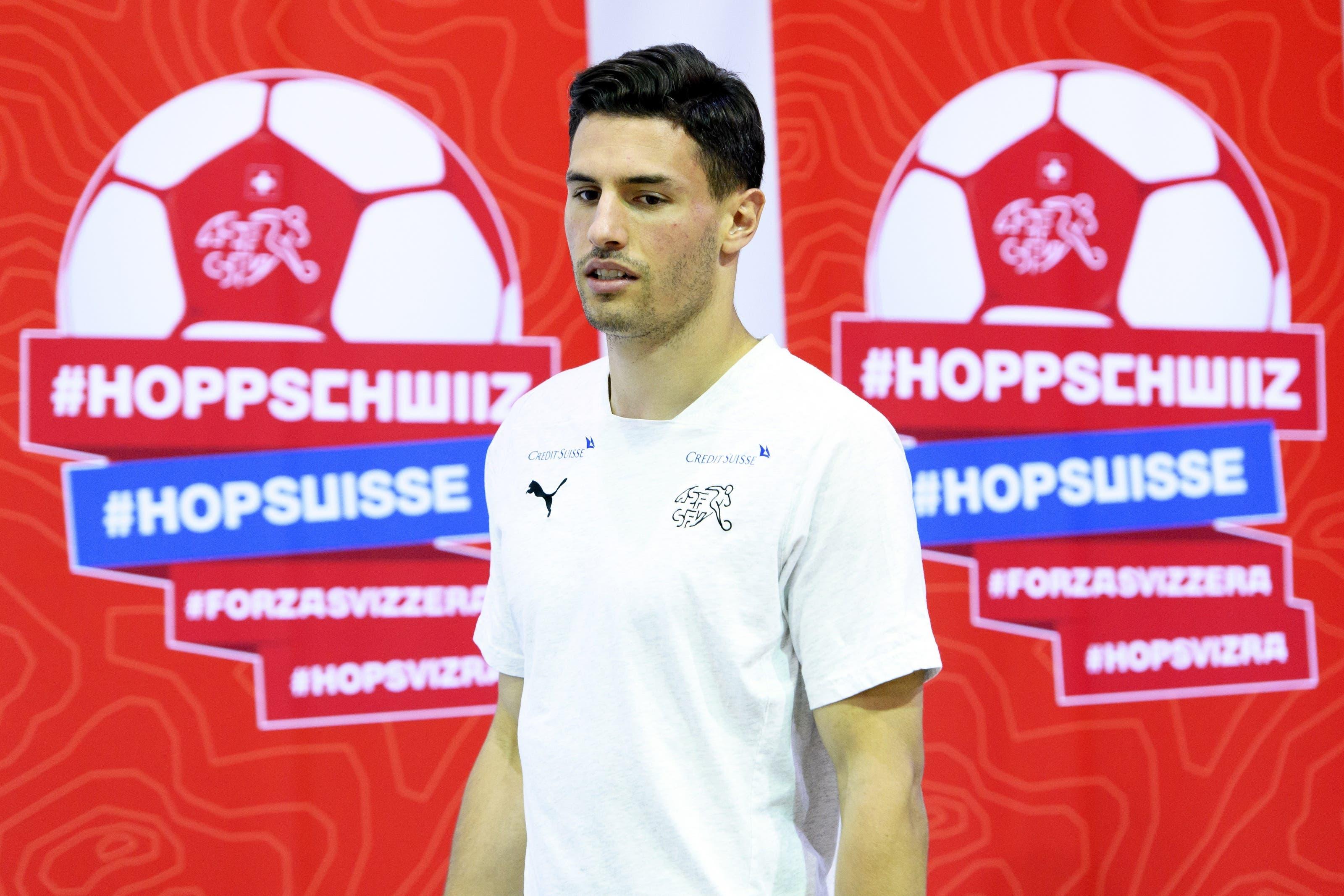 Fabian Schärs Auftritt am Dienstag vor den Medien.