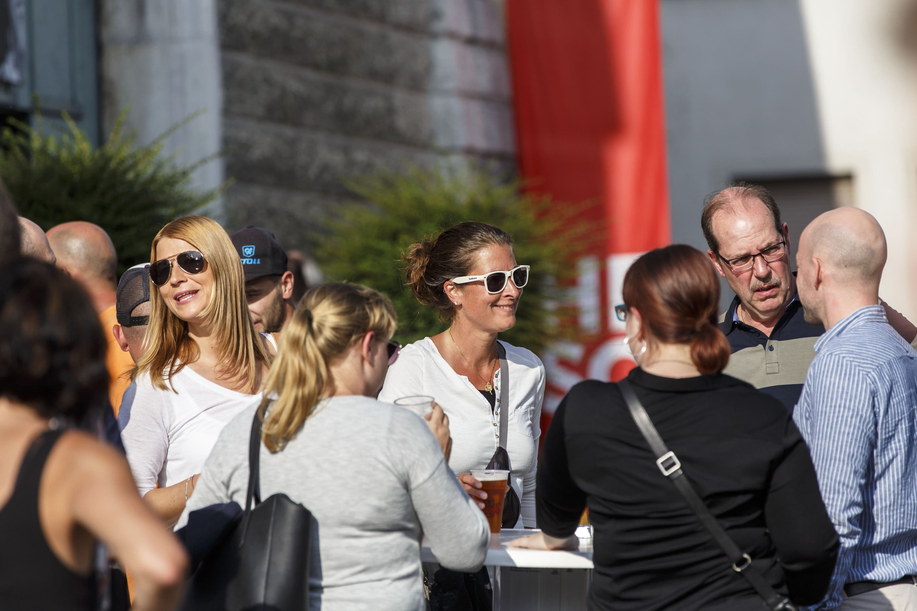 Eröffnungstag der 40. Herbstmesse in Solothurn