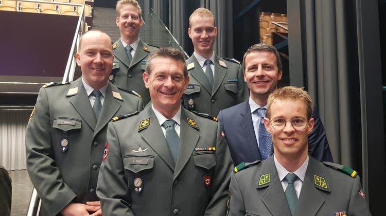 Stabwechsel bei der Aargauischen Offiziersgesellschaft