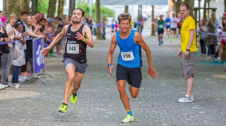 Dritter Aarauer Altstadtlauf: Zwei Sieger in der Hauptkategorie
