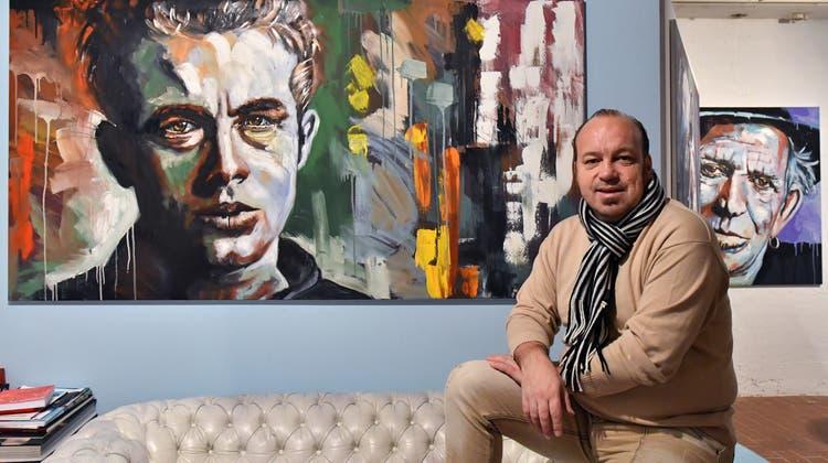 Nach einem ereignisreichen Jahr lädt Thomas Droll in sein Atelier